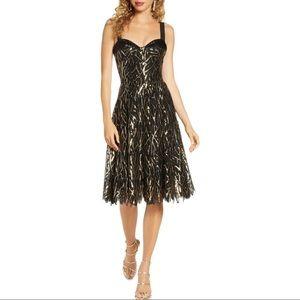NWT Dress The Population Corina Sequin Dress